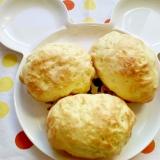 ロールパンdeメロンパン