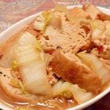 簡単麺つゆで白菜の煮浸し