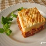 コテージパイ(ポテトとミートソースのグラタン)