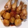 ホクホクねっとり♪「鶏手羽肉と里芋の煮物」献立