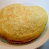 桑の葉青汁の米粉ホットケーキ♬