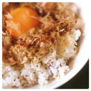 梅風味♪ゆかり&おかか de 納豆丼