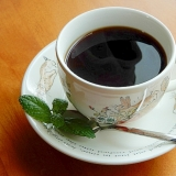 5分!?インスタントコーヒーを美味しく(生ミント)