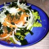 贅沢!雲丹の海草サラダ