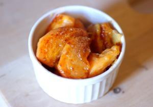 柿のジンジャーバターソテー