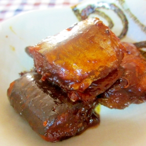 サンマの生姜佃煮