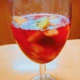赤ワインのフルーツサングリア