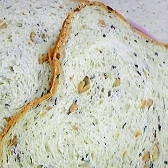 お正月の黒豆で!HB黒豆食パン