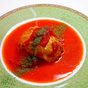 洋食の定番~つなぎにご飯を使う!ロールキャベツ