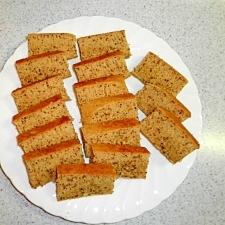 ホットケーキミックスで紅茶のケーキを作ろう!