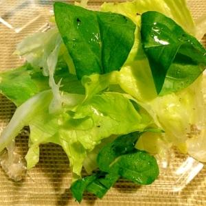 シンプルに☆レタスのサラダ
