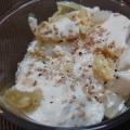 白菜と豆腐のサラダ