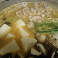 ちょいピリ味噌鍋