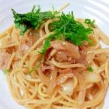 簡単和風ツナスパゲッティ