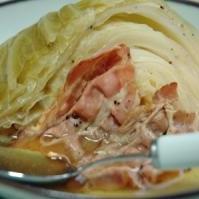 大胆! キャベツとベーコンのスープ煮