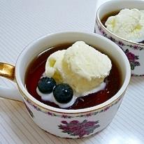 とろーり美味しい♪紅茶のゼリー