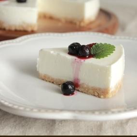 ヨーグルト de レアチーズ風ケーキ