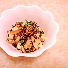 鶏ささみと豆腐の炒め物