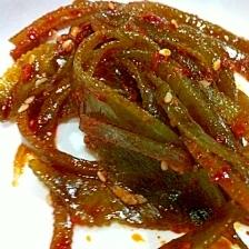 韓国風☆切り昆布のキムチ和え