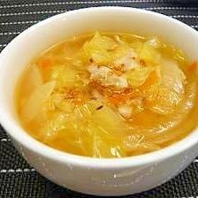 春キャベツの★あったかスープ