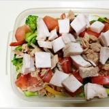ヘルシーランチ!10品目サラダ弁当