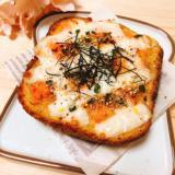 鮭味噌マヨトースト
