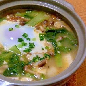 辛さ控えめ 韓国風豆腐鍋