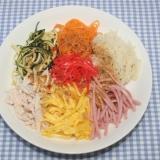 ドライベジタブル麺☆乾燥野菜麺で冷やし中華ごまだれ