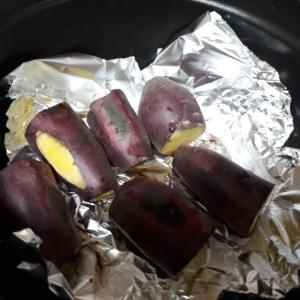 STAUBで簡単焼き芋