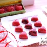 赤いハートのチョコボンボン【No,413】