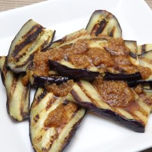 スチームグリルで作るニンニク生姜醤油の茄子のソテー