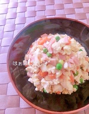 魚肉ソーセージいり豆腐✿