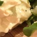 日本酒にワインに、わさび漬け風クリームチーズ
