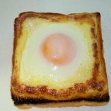 超簡単だけど美味しい!マヨネーズたまごトースト☆