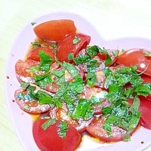 トマトとミントのサラダ