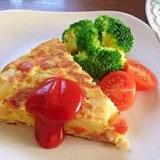 コロコロ野菜のスパニッシュオムレツ