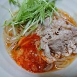 ピリ辛冷麺