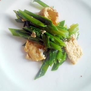 シンプル★にら&薄焼き卵の炒め物