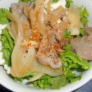 豚肉サラダ☆