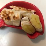 幼児食 米粉の簡単アップルパイ