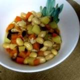 圧力鍋で簡単、栄養満点の五目豆