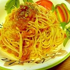 フレッシュトマトのシンプルトマトソース☆