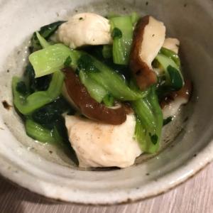 ササミと小松菜の中華炒め