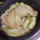 お米ツヤツヤ♪炊飯器でカオマンガイ風鶏飯