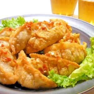 小松菜のエスニック揚げ餃子