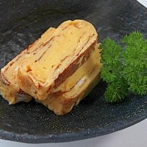 塩麹で伊達巻き風卵焼き