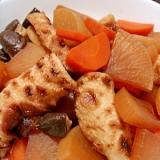 肉なしヘルシー◎ちくわと根菜の煮物