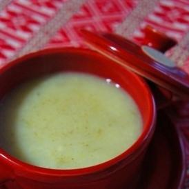 残りご飯で簡単、キャベツと葱の豆乳和ぽたあじゅ