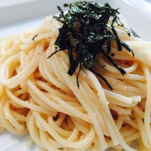 和えるだけ〜〜和風たらこスパゲッティ