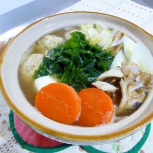 牛ダシダと貝ダシダの簡単鍋汁